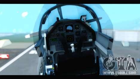 Beechcraft T-6 Texan II US Air Force 3 for GTA San Andreas back view