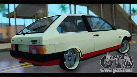 VAZ 21083 for GTA San Andreas back left view