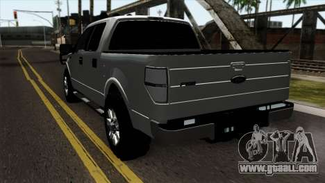 Ford F-150 4X4 Off Road for GTA San Andreas left view