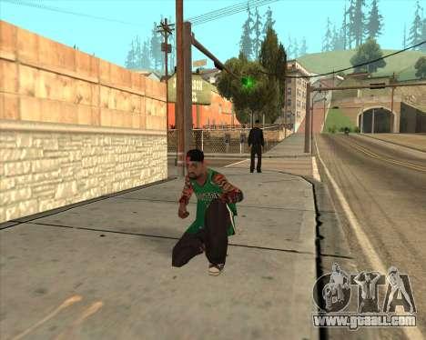 Grove HD for GTA San Andreas forth screenshot