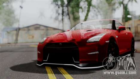Nissan GTR Nismo 2015 for GTA San Andreas