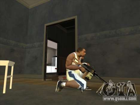 PCM from Battlefield 2 for GTA San Andreas second screenshot
