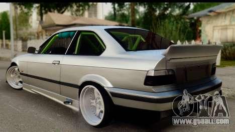 BMW E36 Drift for GTA San Andreas left view