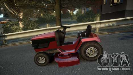 GTA V Lawn Mower for GTA 4 left view