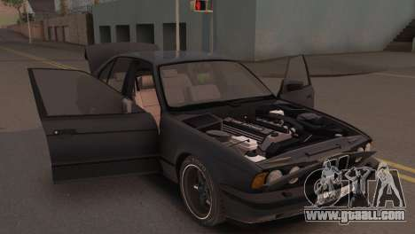 BMW 525i E34 2.0 for GTA San Andreas back view