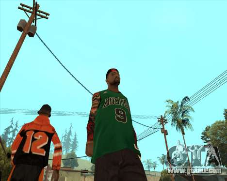 Grove HD for GTA San Andreas second screenshot
