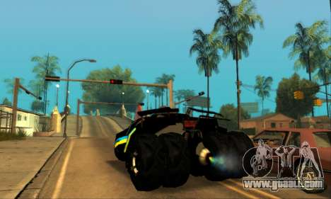 The Tumbler UA Style for GTA San Andreas left view