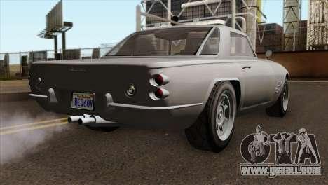 GTA 5 Lampadati Casco IVF for GTA San Andreas left view