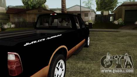 Ford F350 Harley Davidson for GTA San Andreas back left view