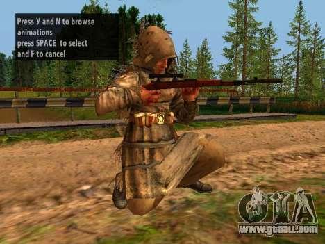 Soviet Sniper for GTA San Andreas ninth screenshot