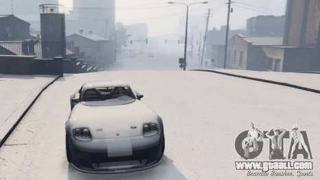 GTA 5 GTA V Online Snow Mod fourth screenshot