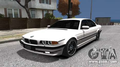 BMW 750i e38 1994 Final for GTA 4 side view