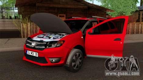 Dacia Logan MCV 2013 HQLM for GTA San Andreas right view