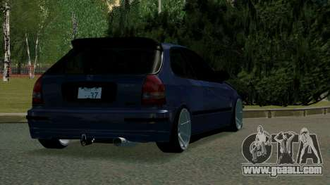 Honda Civic EK9 for GTA San Andreas right view