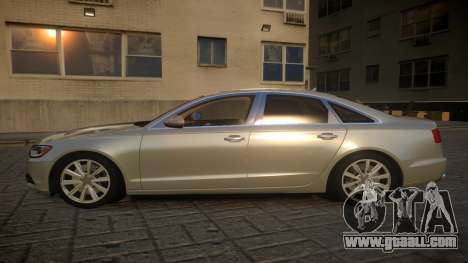 Audi A6 2012 v1.0 for GTA 4 left view