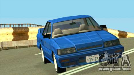 Nissan Skyline R31 for GTA San Andreas back view