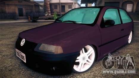 Volkswagen Gol GTI for GTA San Andreas
