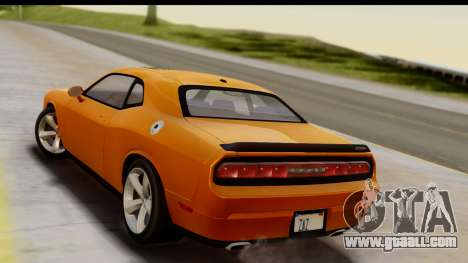 Dodge Challenger SRT8 2009 for GTA San Andreas left view
