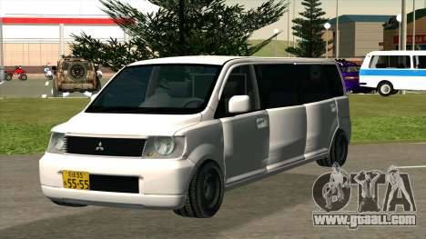 Mitsubishi EK Wagon Limo for GTA San Andreas back view