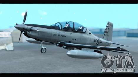 Beechcraft T-6 Texan II US Air Force 3 for GTA San Andreas