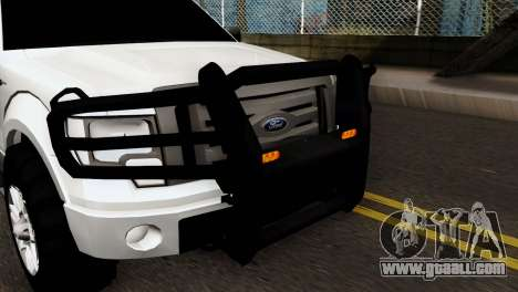 Ford F-150 4X4 Off Road for GTA San Andreas back left view