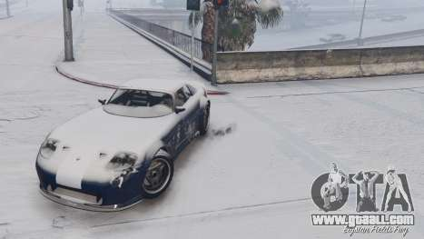 GTA 5 GTA V Online Snow Mod fifth screenshot