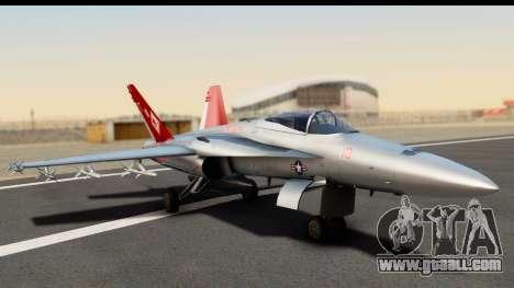 McDonnell Douglas FA-18C Hornet VMFA-232 USMC for GTA San Andreas