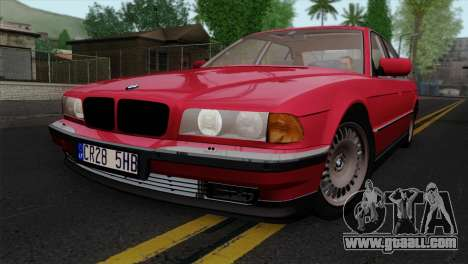 BMW 750iL E38 for GTA San Andreas