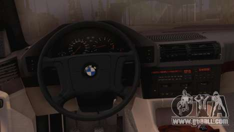 BMW 525i E34 2.0 for GTA San Andreas right view