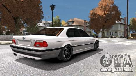 BMW 750i e38 1994 Final for GTA 4 interior