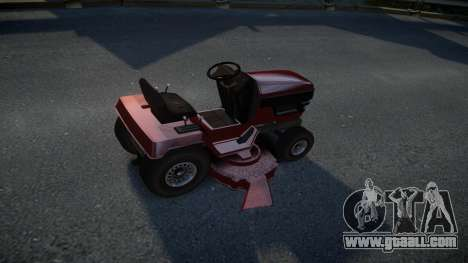 GTA V Lawn Mower for GTA 4 right view
