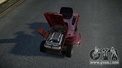 GTA V Lawn Mower for GTA 4 inner view