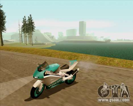 NRG-500 Winged Edition V.2 for GTA San Andreas upper view