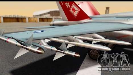 McDonnell Douglas FA-18C Hornet VMFA-232 USMC for GTA San Andreas right view