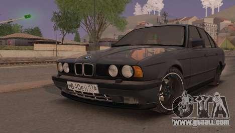 BMW 525i E34 2.0 for GTA San Andreas