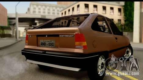 Chevrolet Kadett SL v2.0 for GTA San Andreas left view