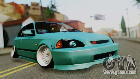 Honda Civic 1.4 Hatcback for GTA San Andreas