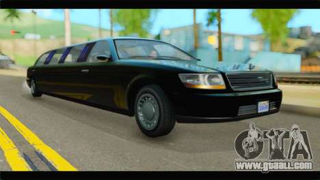 GTA 5 Dundreary Stretch IVF for GTA San Andreas