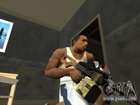 PCM from Battlefield 2 for GTA San Andreas third screenshot