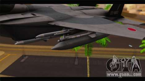F-15J Hyakuri Air Base 30th Anniversary for GTA San Andreas right view