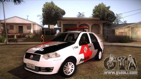 Fiat Siena 2011 for GTA San Andreas