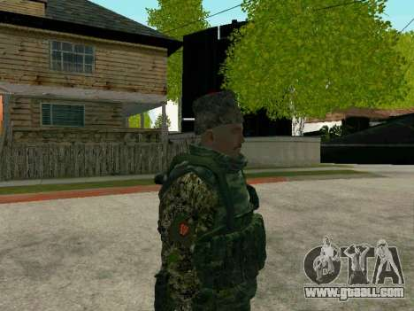 Kuban Cossack for GTA San Andreas sixth screenshot