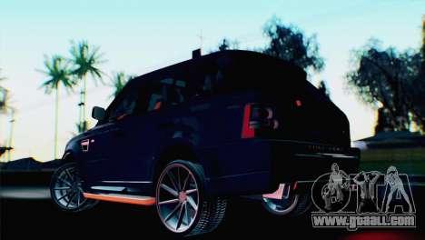 Range Rover Sport 2012 Samurai Design for GTA San Andreas left view