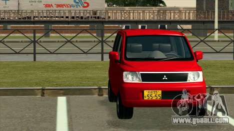 Mitsubishi eK Wagon for GTA San Andreas back view