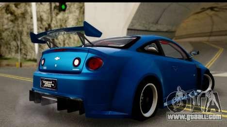 Chevrolet Cobalt SS Mio Itasha for GTA San Andreas left view