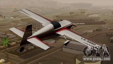 GTA 5 Stuntplane for GTA San Andreas left view
