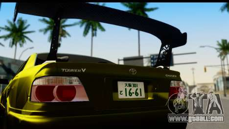 Toyota Chaser Tourer V Fail Crew for GTA San Andreas right view