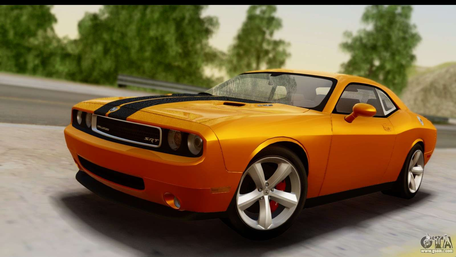dodge challenger srt8 2009 for gta san andreas. Black Bedroom Furniture Sets. Home Design Ideas