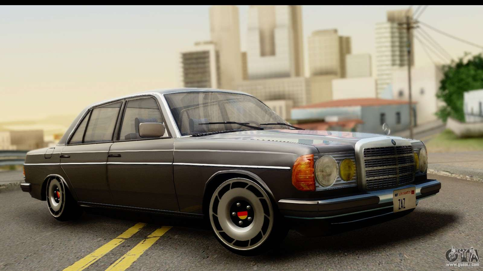 Mercedes benz 240 w123 stance for gta san andreas for Mercedes benz gta