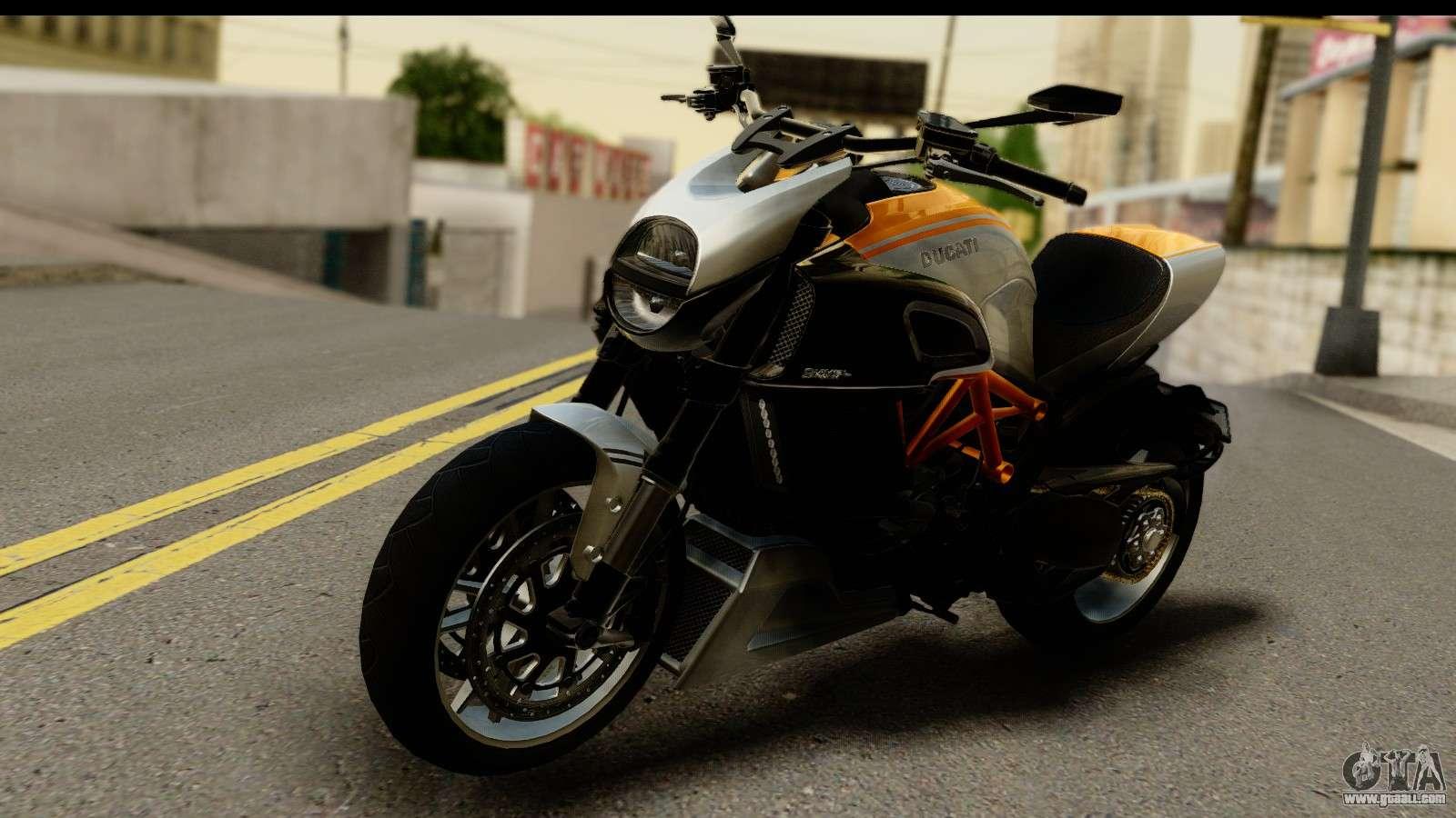 Ducati Diavel Carbon  For Gta Sa